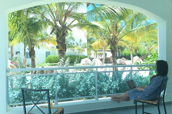 Working Remotely From Bayahibe