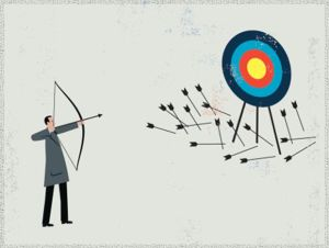 What if you could SKIP shooting the arrows that you knew would miss the target?
