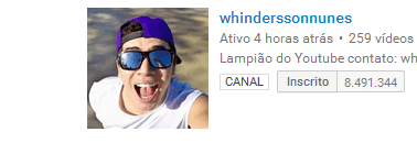 whinderson nunes canal youtube