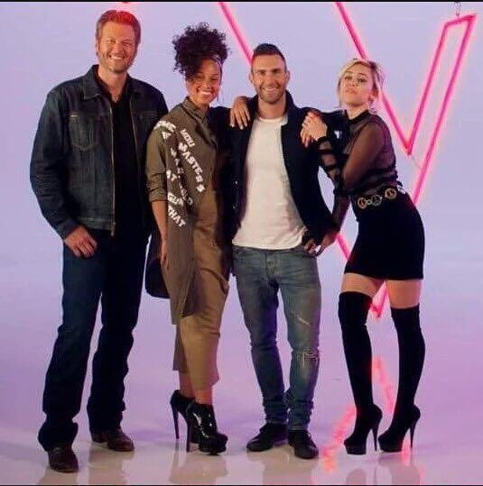 miley crus the voice eua