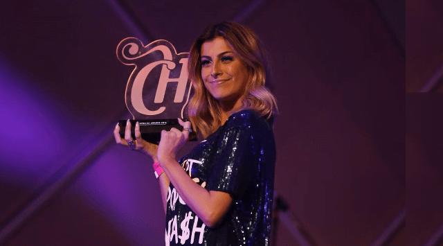 Nah Cardoso ganhou prêmio na categoria moda (Reprodução/Internet)