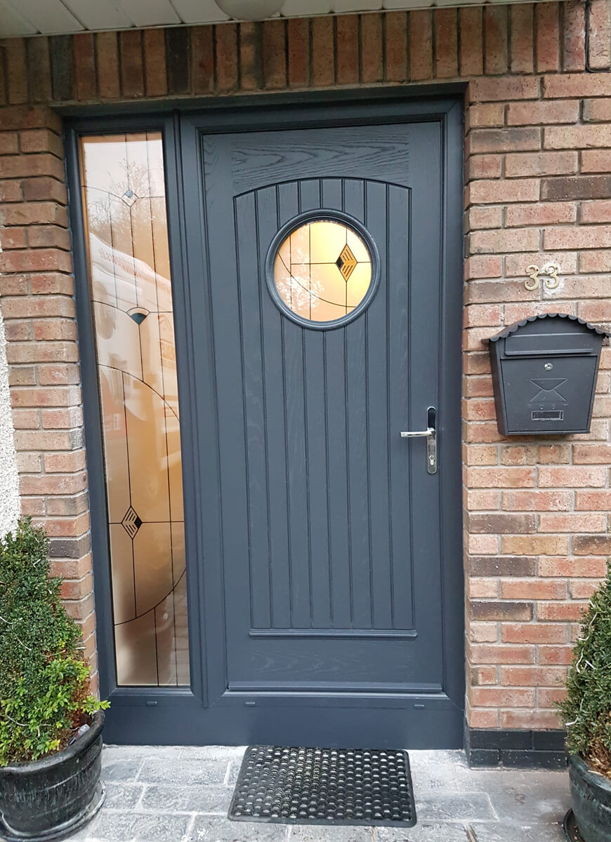 palladio viking door with sidelight in