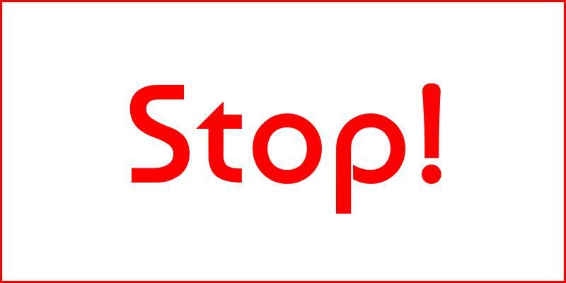 stop speeding campaign header