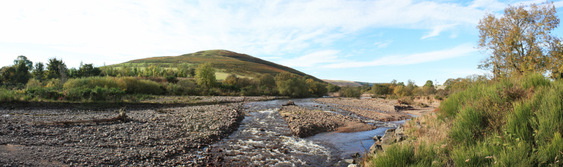Breamish Valley in Northumberland