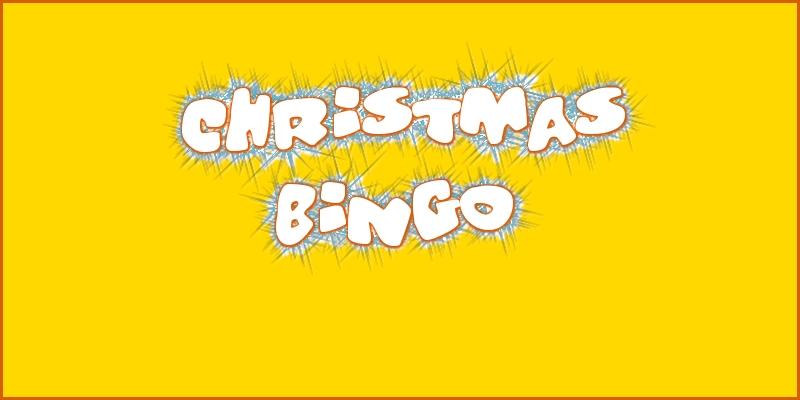 Christmas Bingo 2016 header
