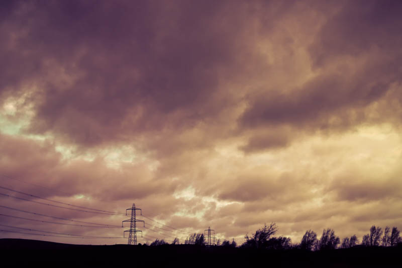 winter brew stormy sky Branton Lakes