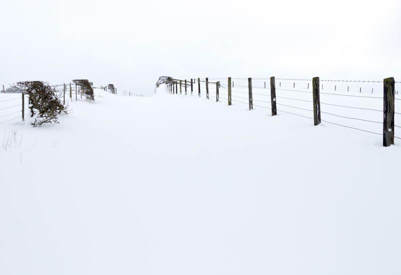 towards Crawley Tower in Siberian Bear snow