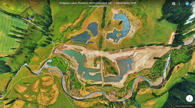 Hedgeley Lakes development map view 800px c. David Hanks