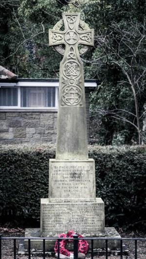 Eglingham War Memorial (looking East)