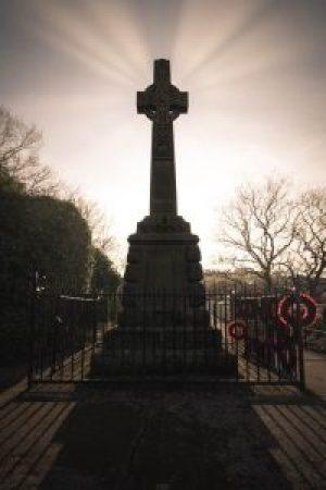 Wooler War Memorial (looking South-East)
