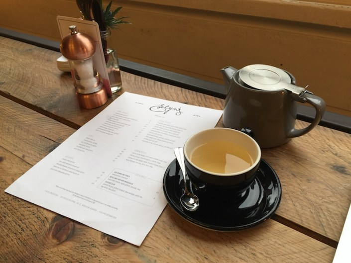 Freelance PR coffee shop working