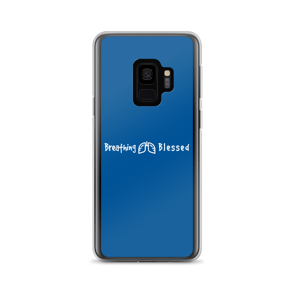 White & Royal Classic Galaxy S9 Case