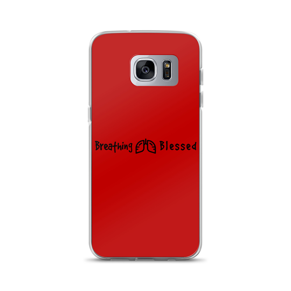 Black & Red Classic Galaxy S7 Edge Case