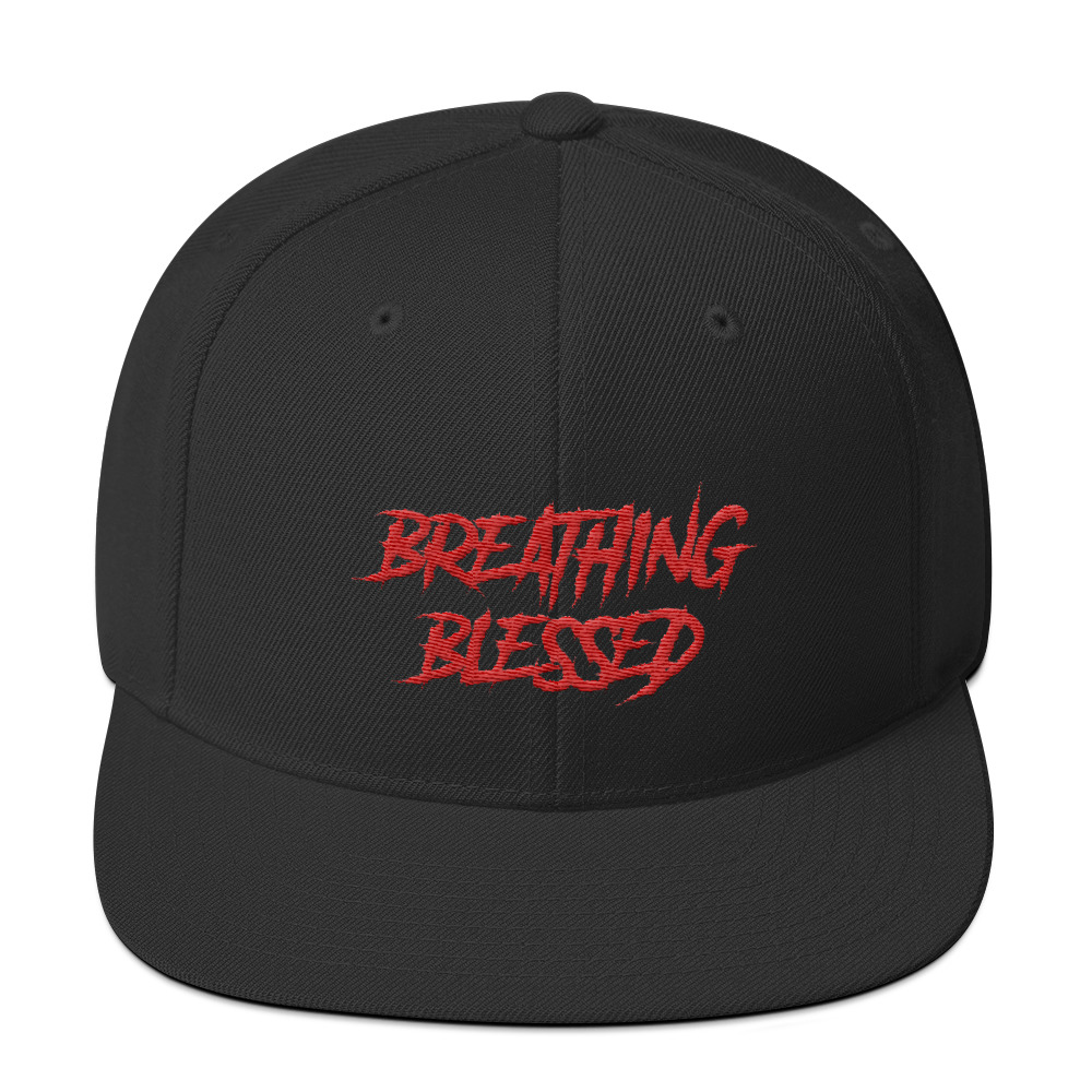 Red Graphic Snapback