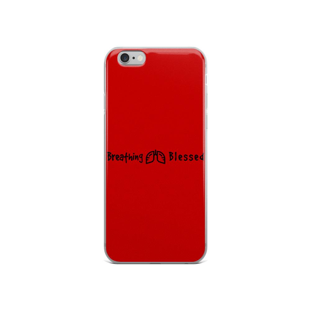 Black & Red Classic iPhone 6/6s Case