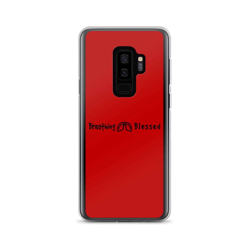 Black & Red Classic Galaxy S9+ Case