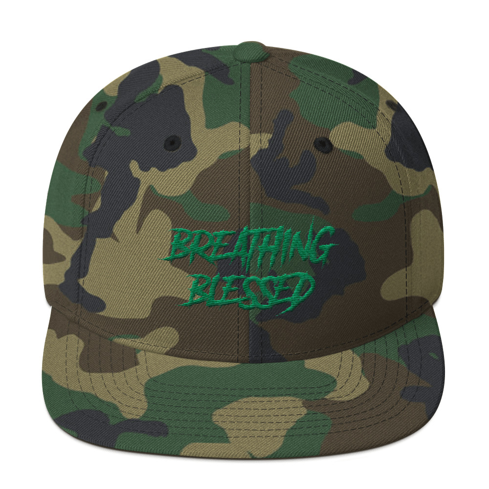 Green Graphic Snapback