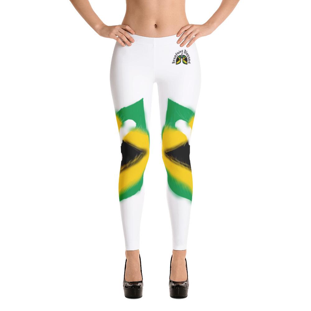 Breathing Jamaica White Leggings
