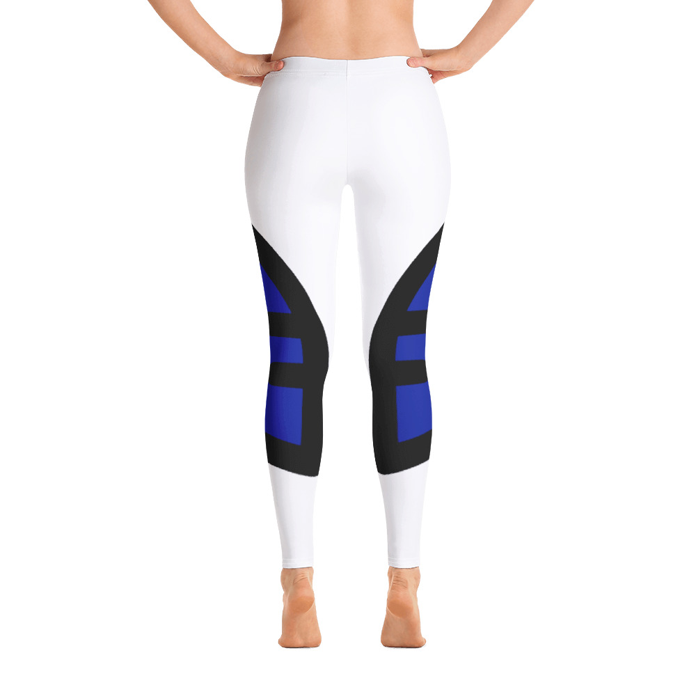 Breathing Barbados Original White Leggings