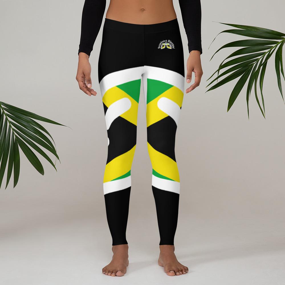 Breathing Jamaica Original Black Leggings