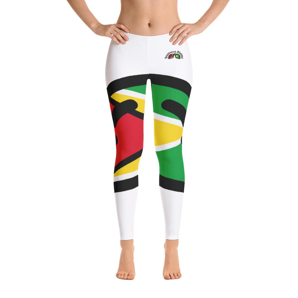 Breathing Guyana Original White Leggings