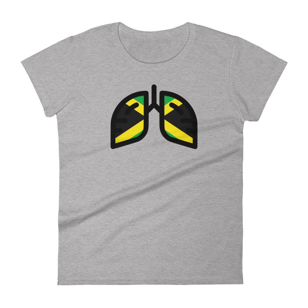 Ladies Breathing Jamaica Original T -shirt