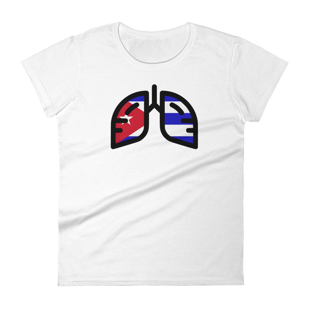 Ladies Breathing Cuba T-Shirt