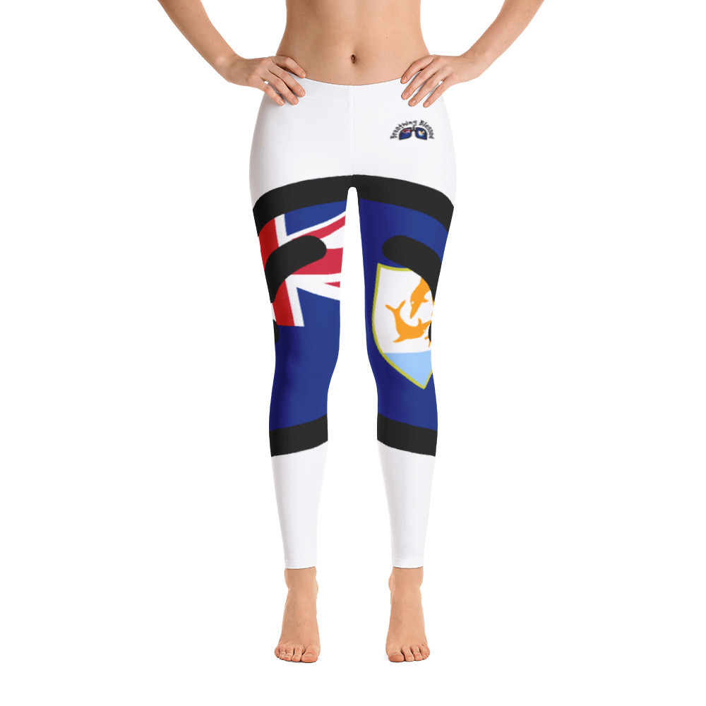 Breathing Anguilla White Leggings