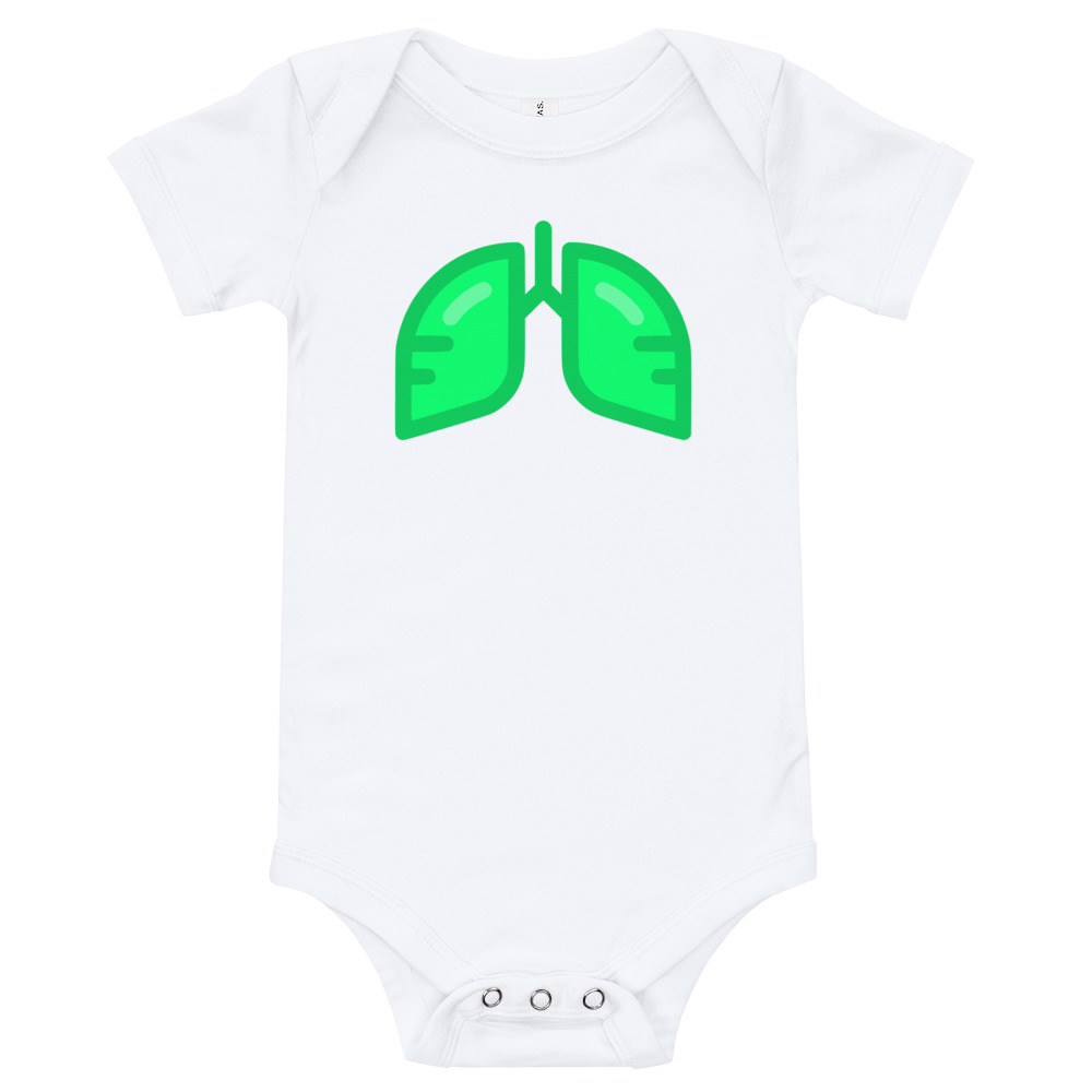 Neon Green Icon Baby Bodysuit