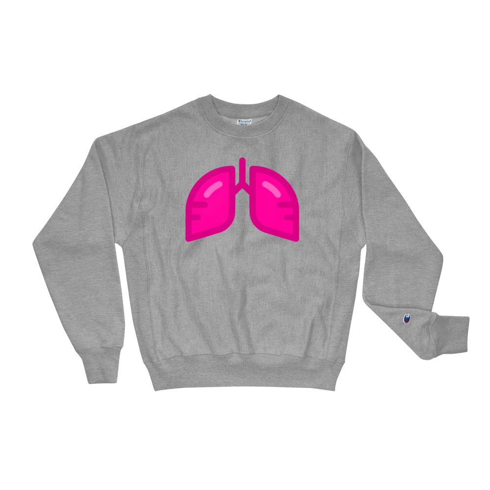 BB Neon Pink Champion Sweatshirt