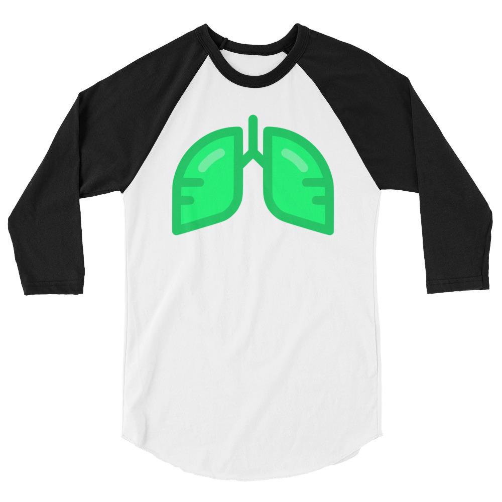 Neon Green Icon 3/4 Sleeve Shirt