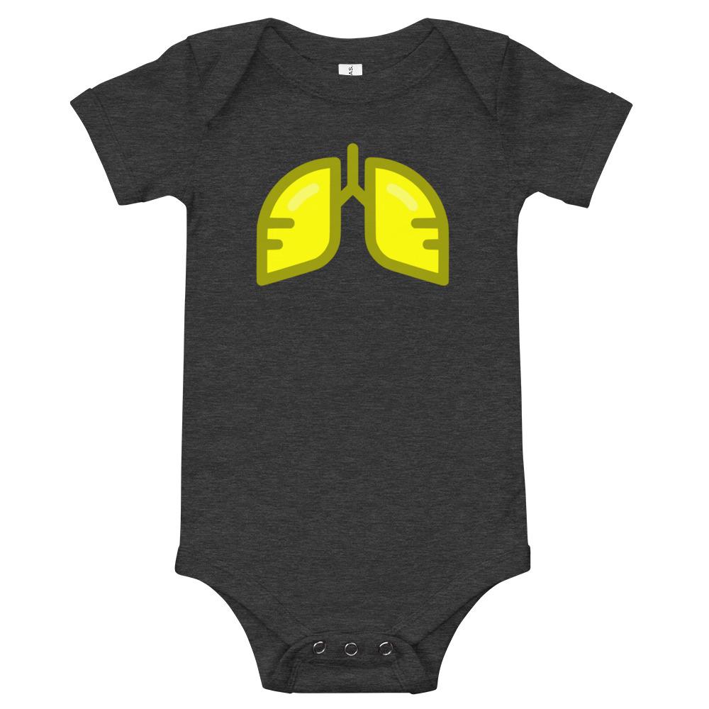 Neon Yellow Icon Baby Bodysuit