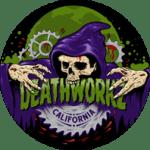 Deathworkz, Lynette Brown, Haunted House, California, Toronto, Breath Of Fresh Air Design, Graphic Design, Logo design, Horror