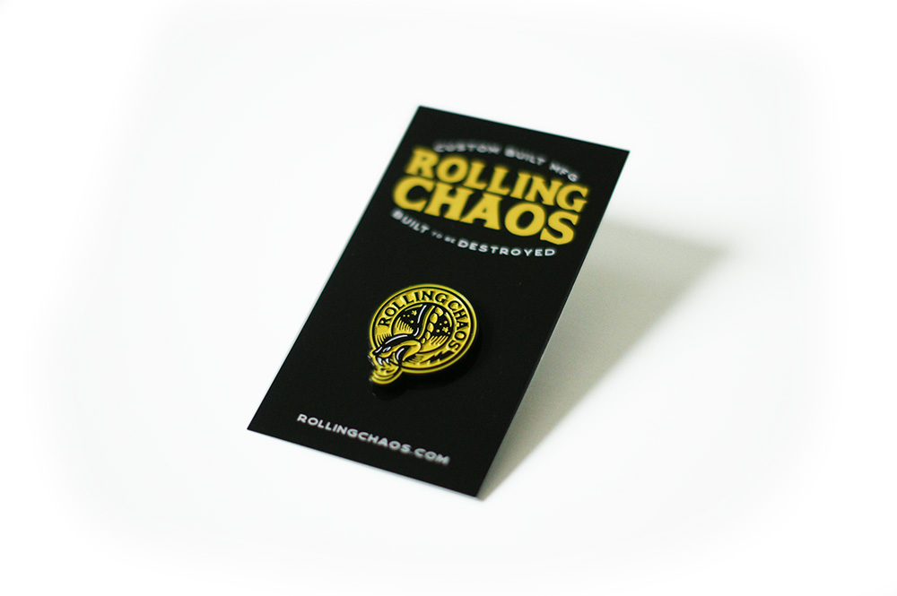 Rolling Chaos, Breath Of Fresh Air Design, Enamel Pin, Snake, Pin, Tattoo, Kustom ARt, Illustration, Graphic Design, Brand, Serpent