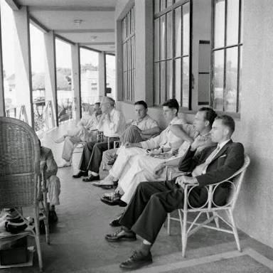 Americanos no Grande Hotel (Foto: Life)