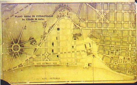Mapa do Plano de Sistemalização