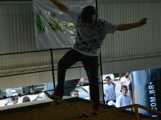 Sábado foi dia de competição de skate em Natal