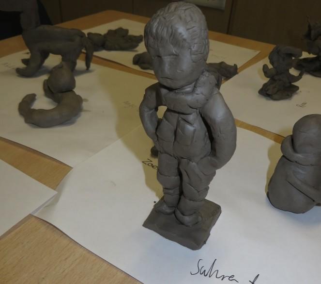 Clock Maker Apprenticeship Part 2 Clay Figures Brecknock Primary School