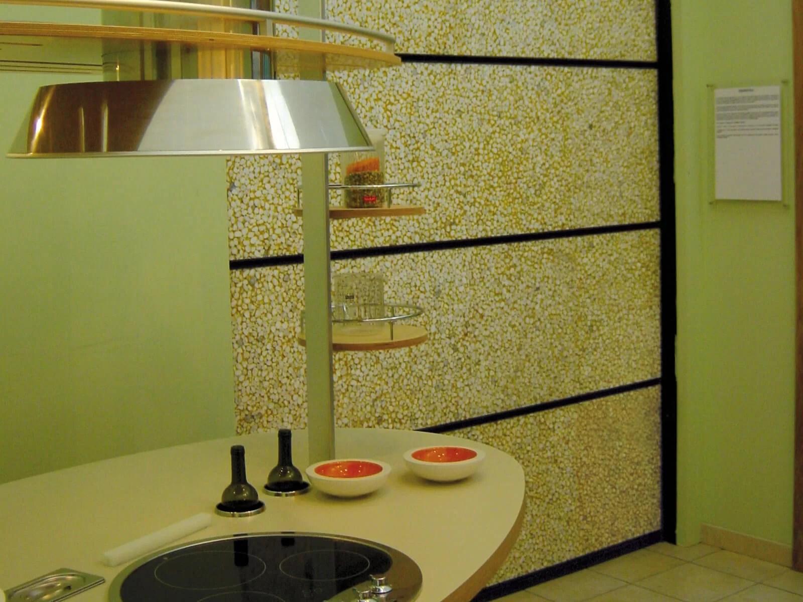 Portone di design Le Perle RESINS JEWELS - Resins - Sassi sotto resina