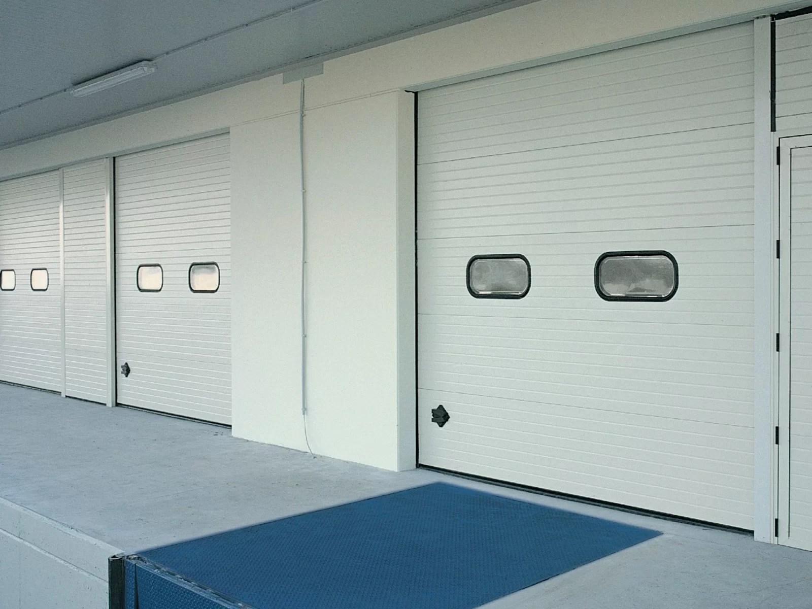 Portone sezionale industriale CARGO - Stucco banco C21