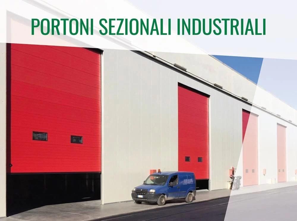 Portoni Sezionali Industriali