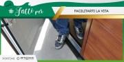 #FATTIPER Facilitarti la vita! Portoni con Porta Pedonale Breda