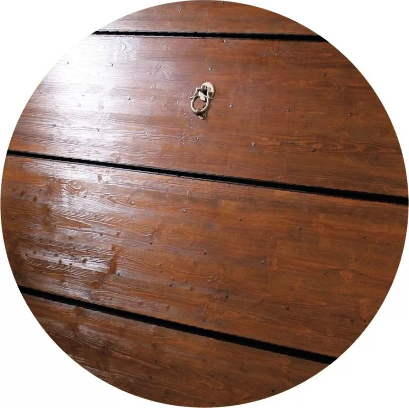 materiali portoni garage legno