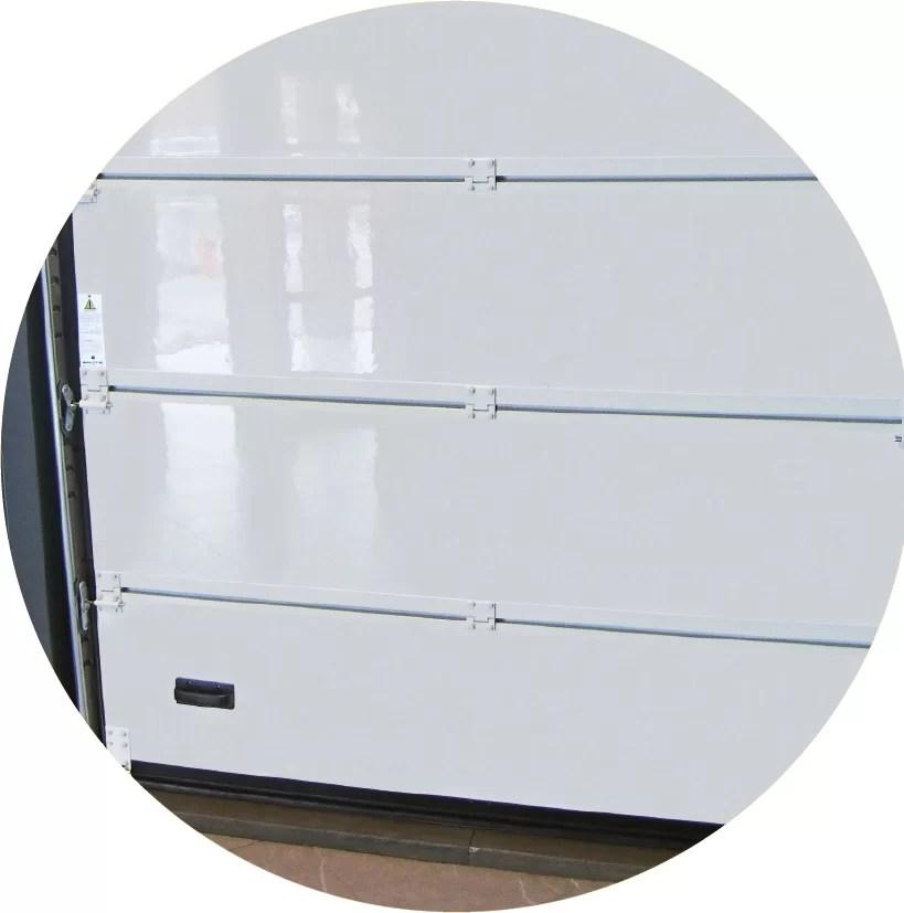 materiali portoni garage rivestimento plastico
