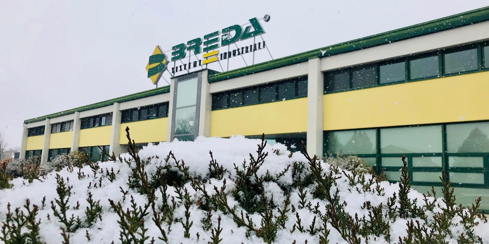 È arrivata la neve sui Portoni Breda
