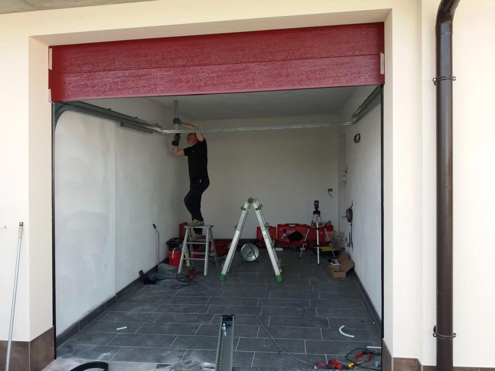 Porta sezionale Sirio by Breda