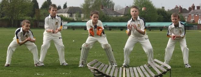 Junior cricket coaching