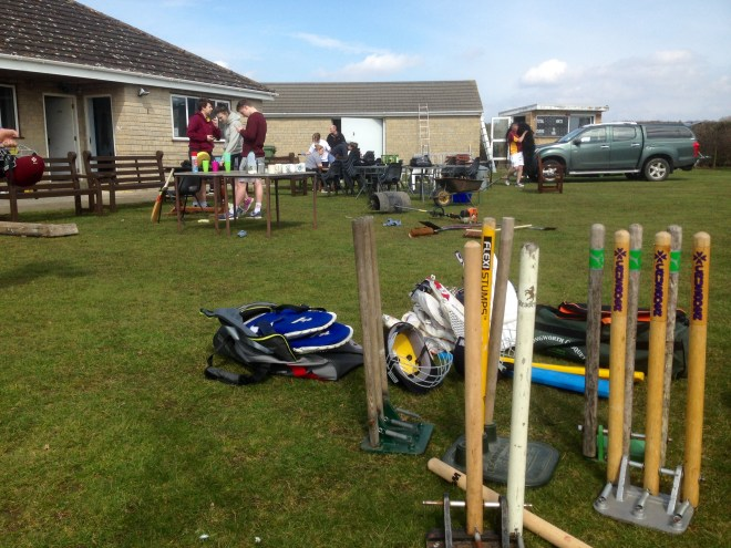 CricketForce Day at Bredon