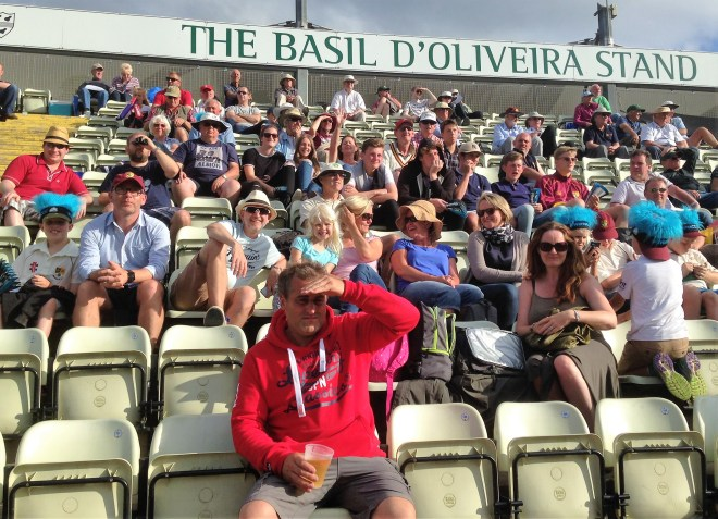 crowd at new road cricket ground