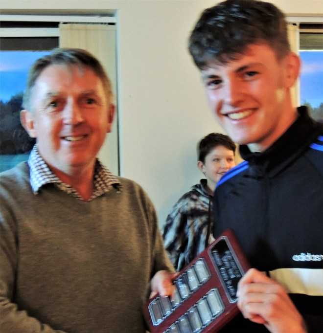 Most enthusiastic cricketer prize: Sam Draper